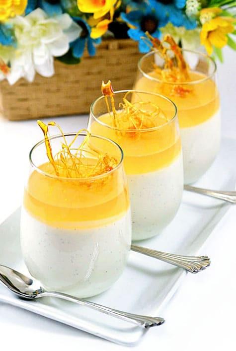Sweet Honey Dessert  Honey Panna Cotta Recipe