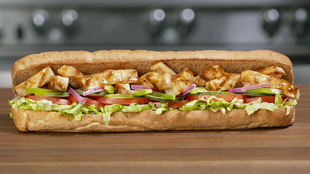 Sweet Onion Chicken Teriyaki  subway sweet onion chicken teriyaki ingre nts