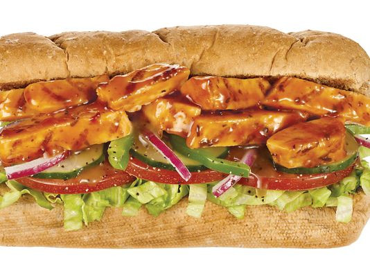 Sweet Onion Chicken Teriyaki  Subway s new $6 deal includes drink chips