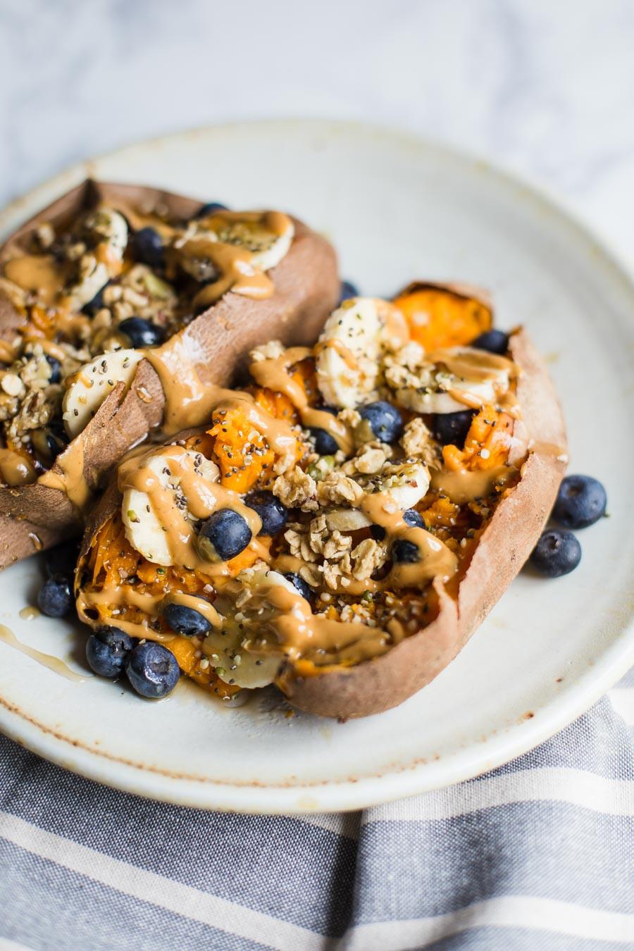Sweet Potato Breakfast Recipes  Loaded Breakfast Sweet Potatoes