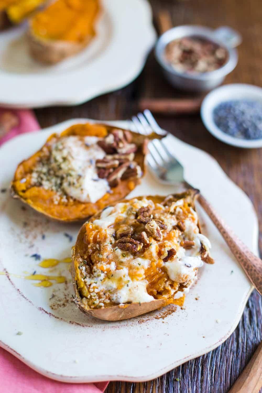 Sweet Potato Breakfast Recipes  Breakfast Baked Sweet Potatoes