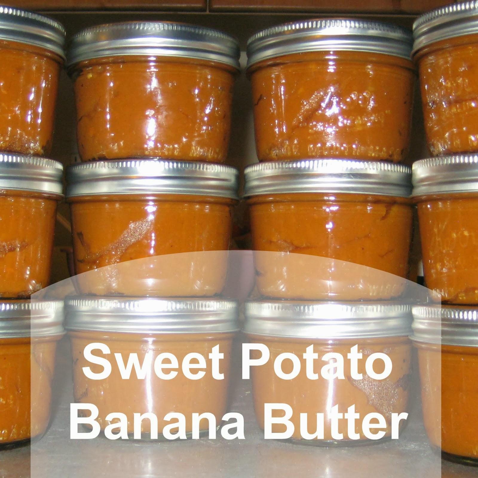 Sweet Potato Butter  Sweet Potato Banana Butter Ever Growing Farm