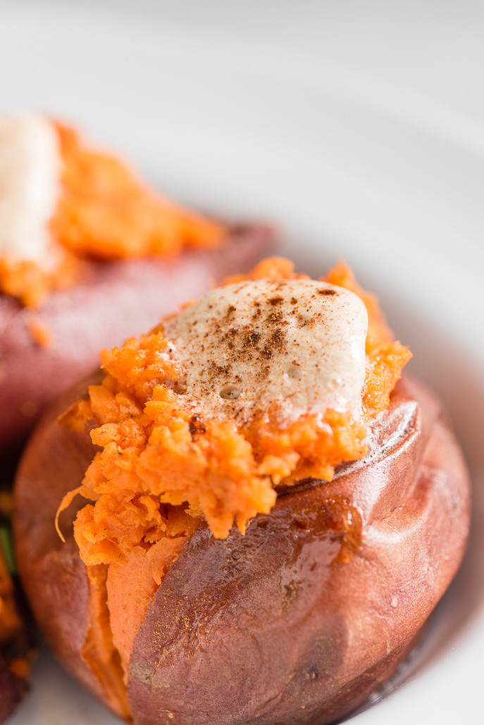 Sweet Potato Butter  Baked Sweet Potatoes with Sweet or Savory Butter