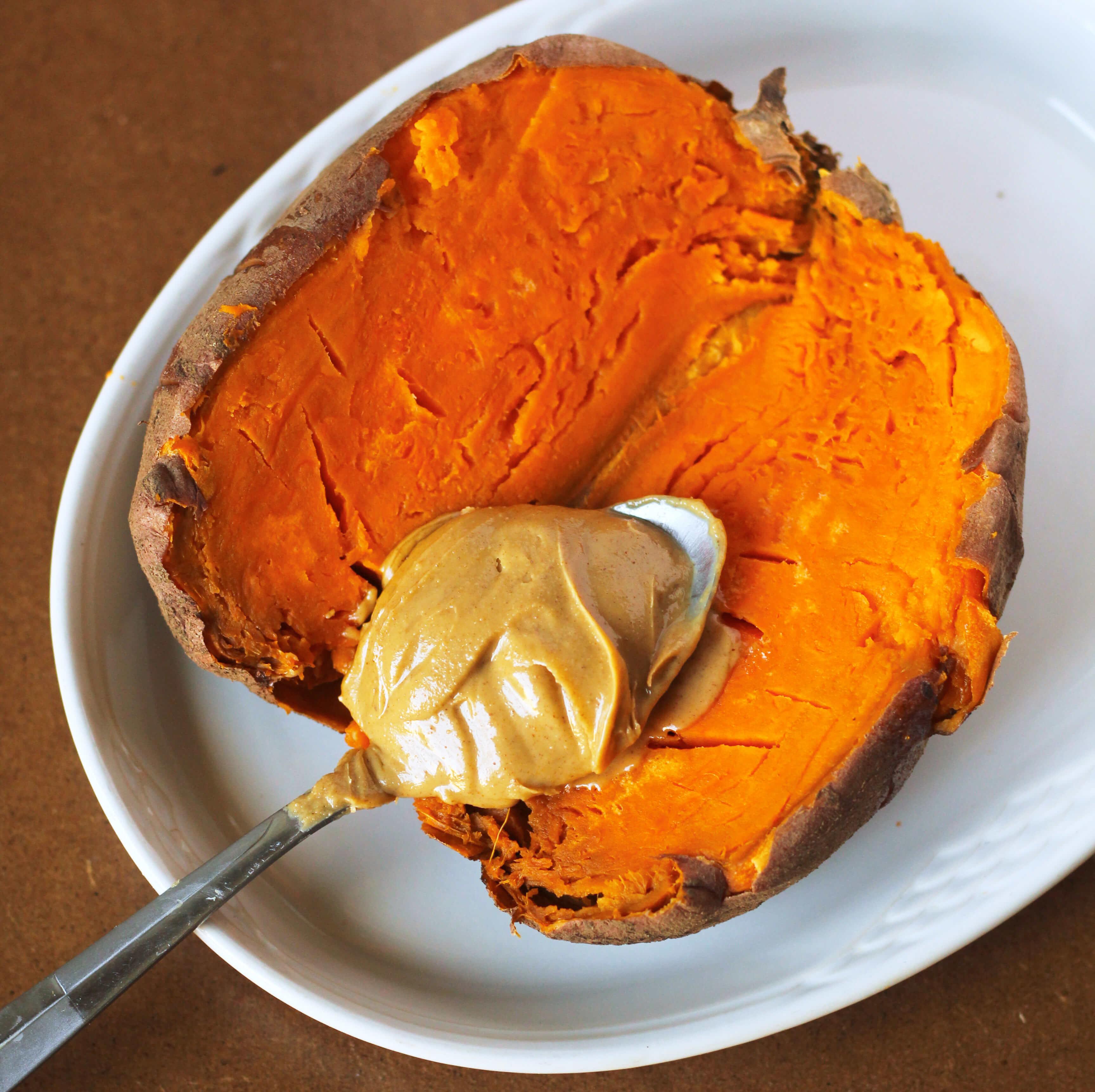 Sweet Potato Butter  Peanut Butter Sweet Potato Vegan High Protein Snack
