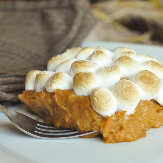 Sweet Potato Casserole Marshmallow  Marshmallow and Sweet Potato Casserole