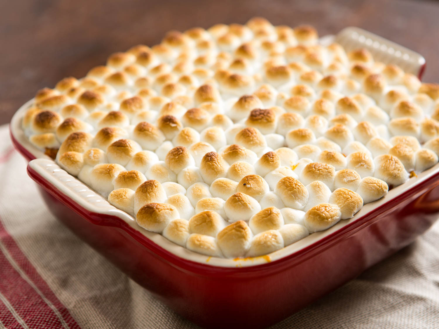 Sweet Potato Casserole Marshmallow  Meet the Grown Up Sweet Potato Casserole That Your Inner