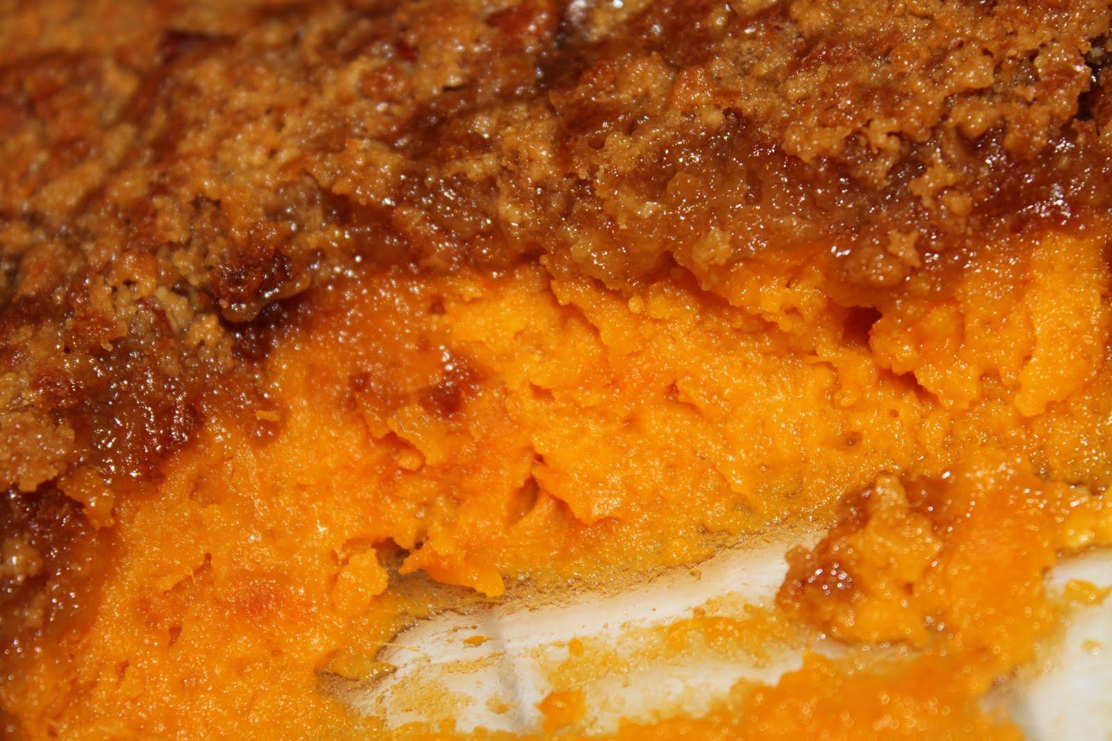Sweet Potato Casserole Pioneer Woman  My View From The Avenue Sweet Potato Casserole
