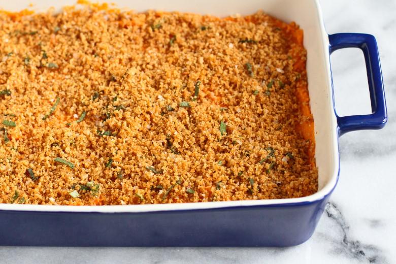 Sweet Potato Casserole Pioneer Woman  Thanksgiving Dinner Lightened Up Sweet Potato Casserole