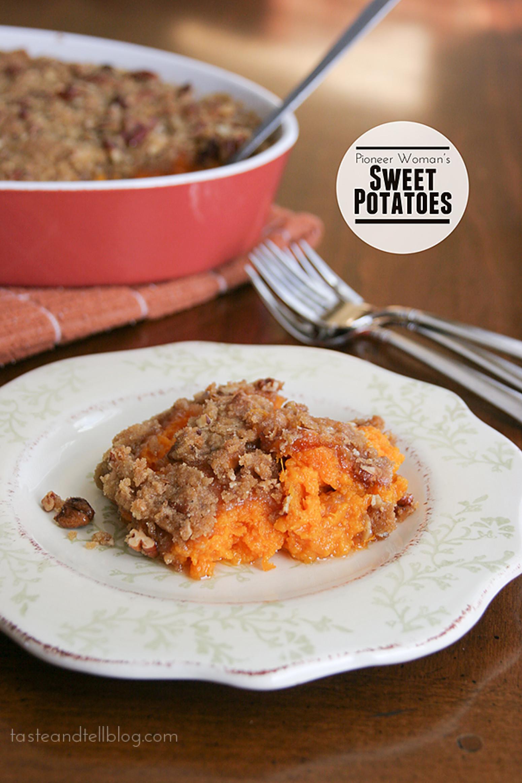 Sweet Potato Casserole Pioneer Woman  Pioneer Woman s Sweet Potatoes Recipe