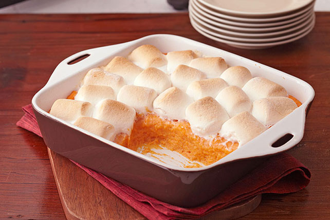 Sweet Potato Marshmallow  Baked Sweet Potatoes with Marshmallows Kraft Recipes