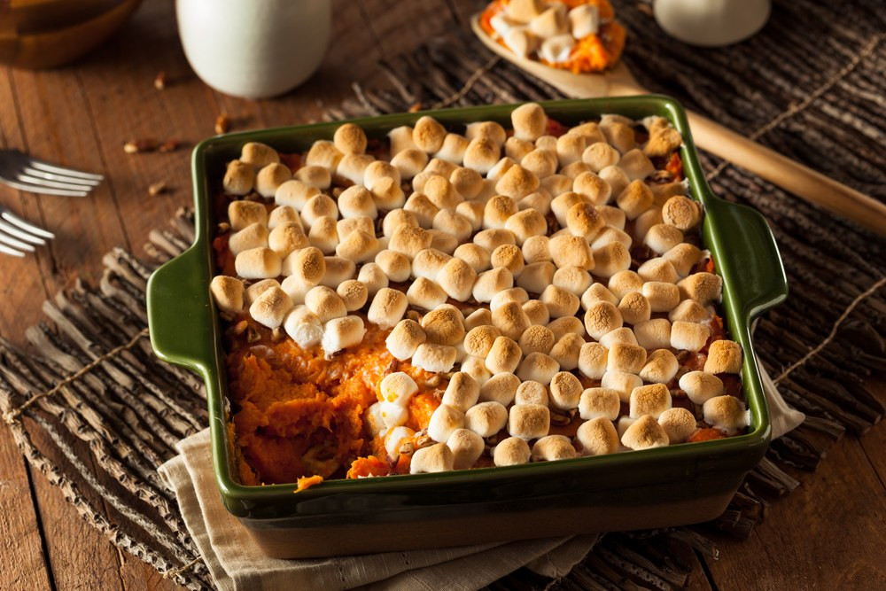 Sweet Potato Marshmallow  Brown Sugar Glazed Sweet Potatoes with Marshmallows recipe