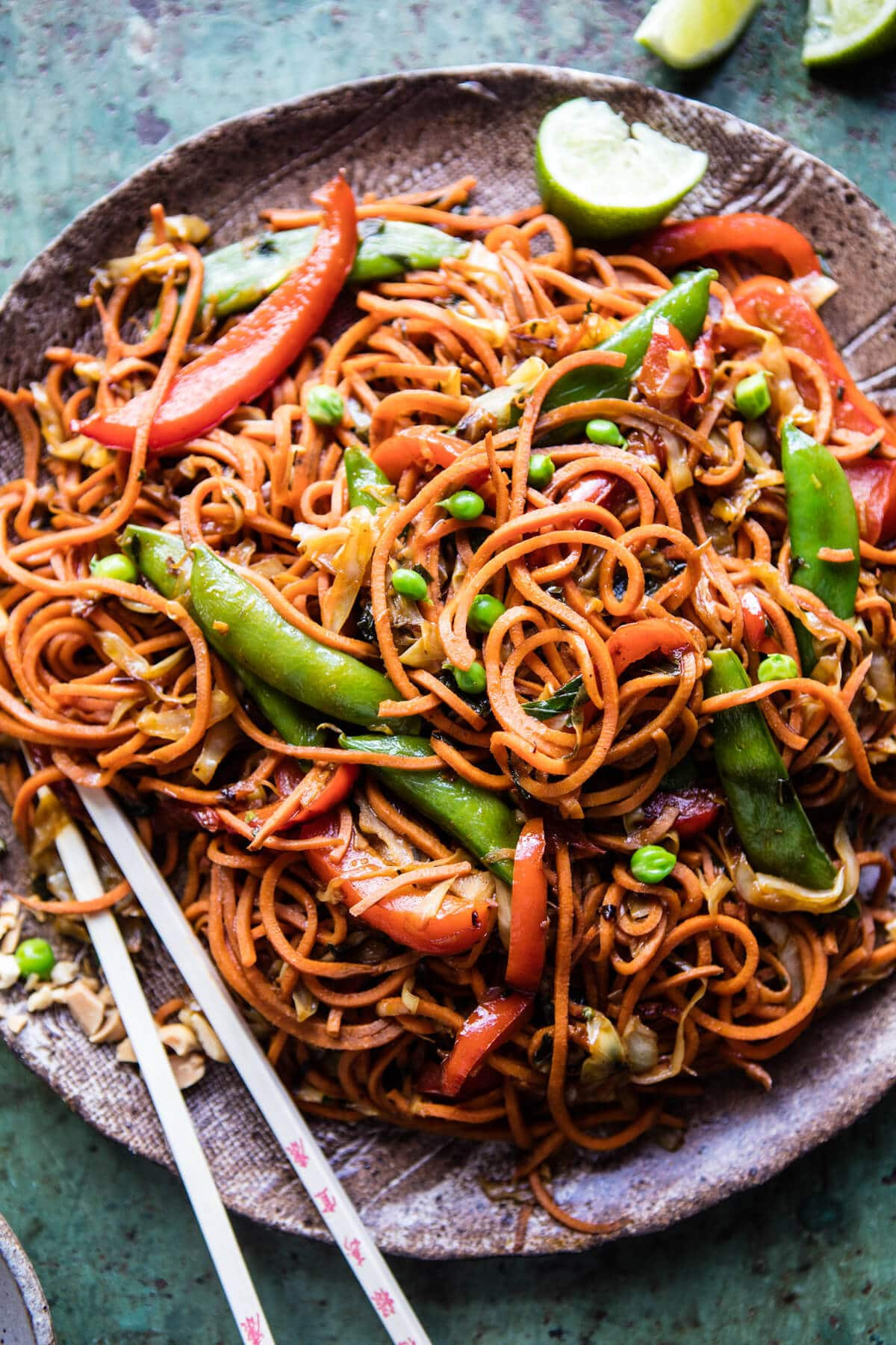 Sweet Potato Noodles Recipe  Singapore Sweet Potato Noodles Half Baked Harvest
