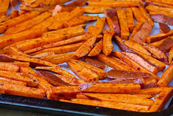 Sweet Potato Oven Fries  Oven Baked Sweet Potato Fries