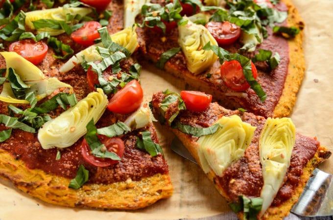 Sweet Potato Pizza  Sweet Potato Pizza Crust