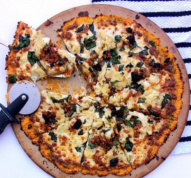Sweet Potato Pizza  Whole 30 Recipe Sweet Potato Crust