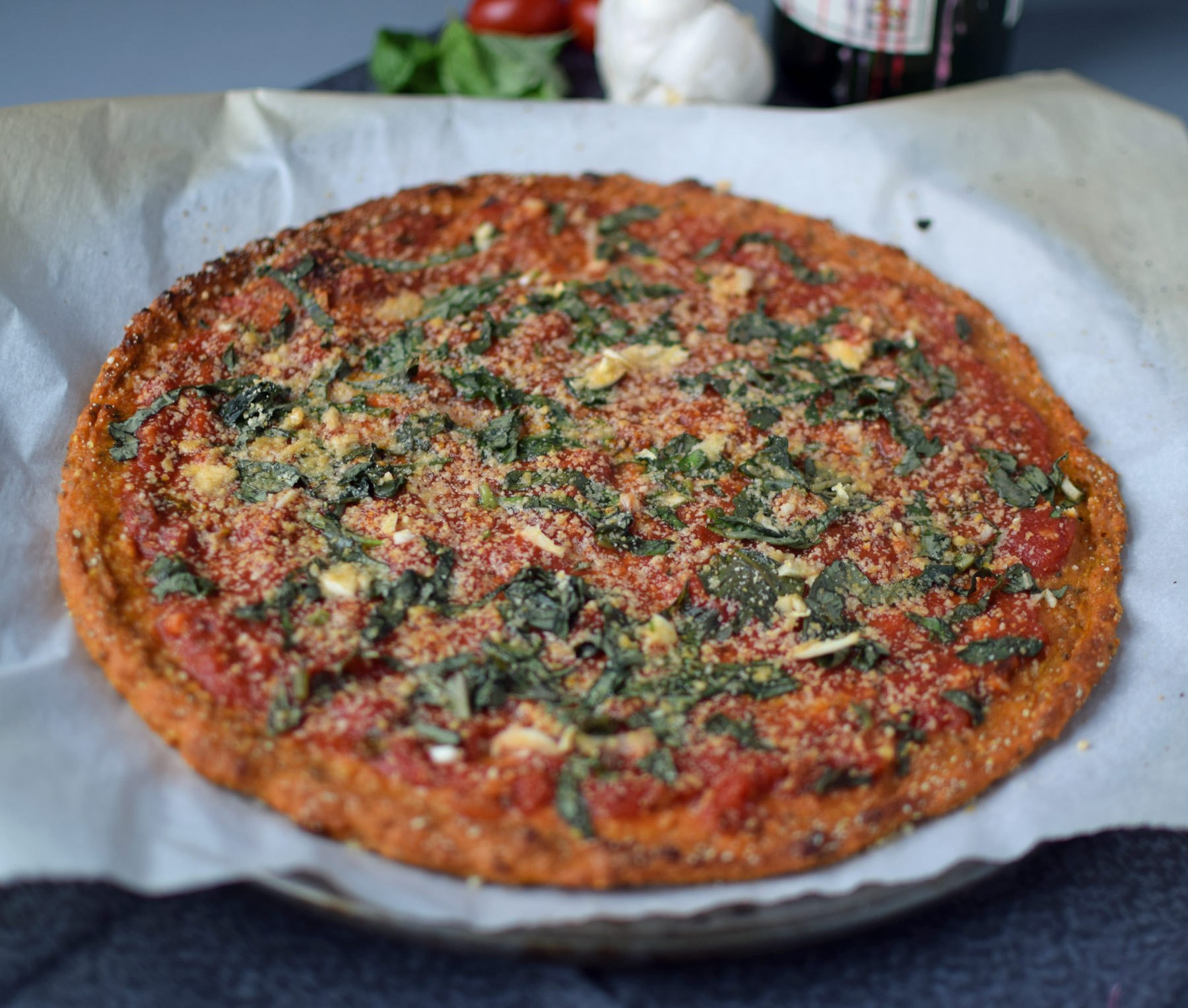 Sweet Potato Pizza  Roasted Garlic Sweet Potato Pizza Crust Vegan & Gluten Free