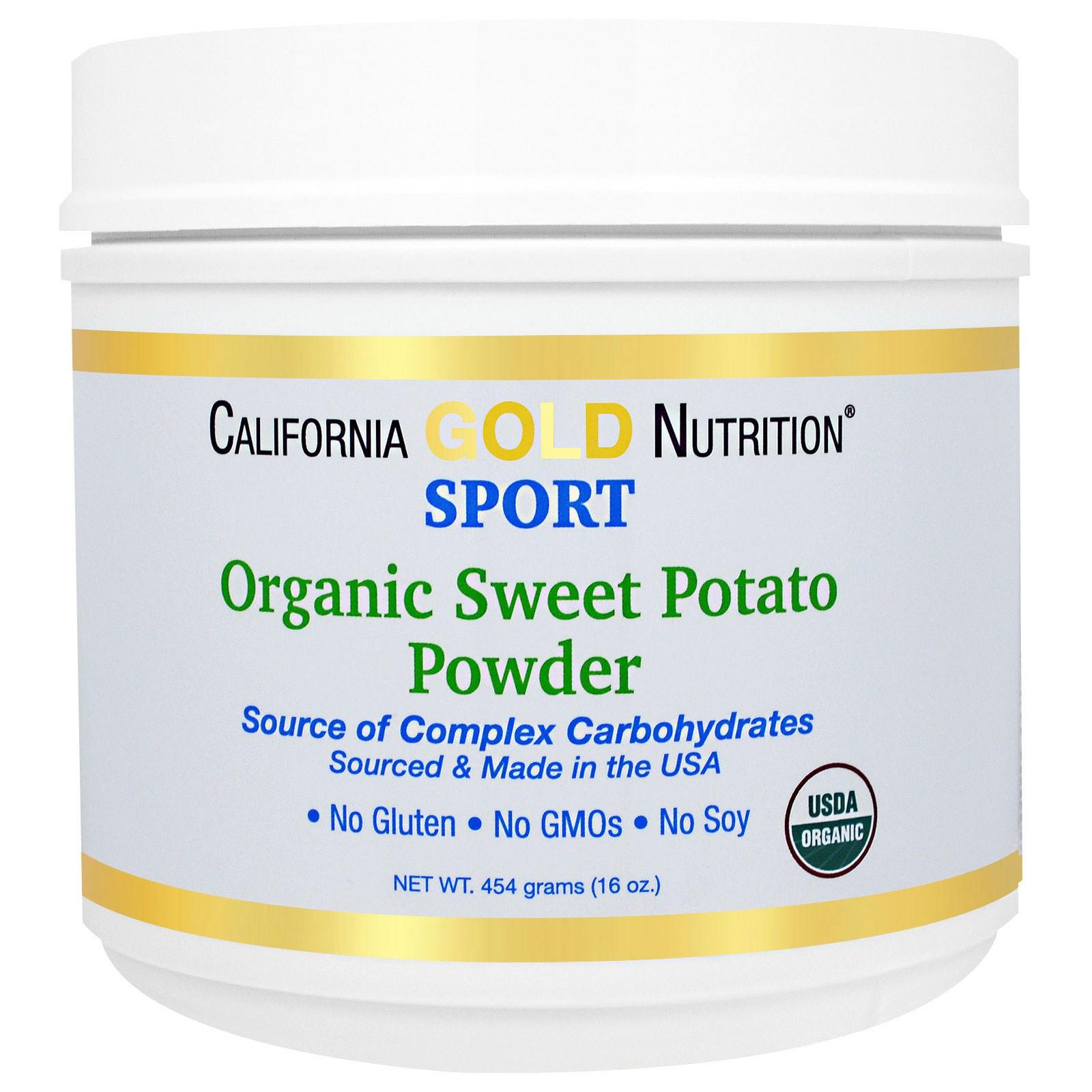 Sweet Potato Powder  California Gold Nutrition Sports Pure Organic Sweet