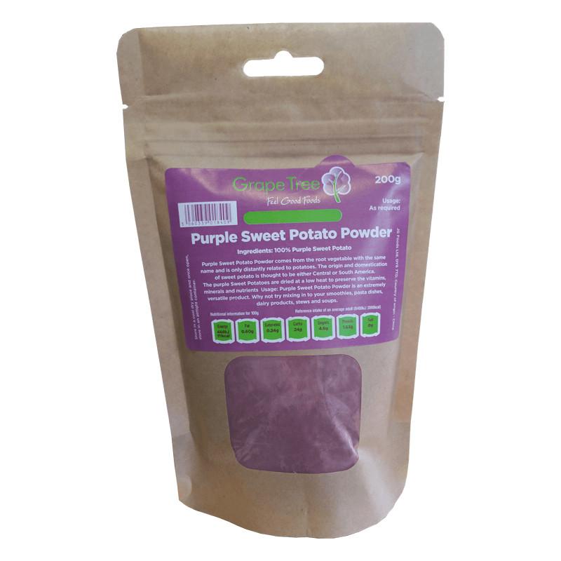 Sweet Potato Powder  purple potato powder Grape Tree