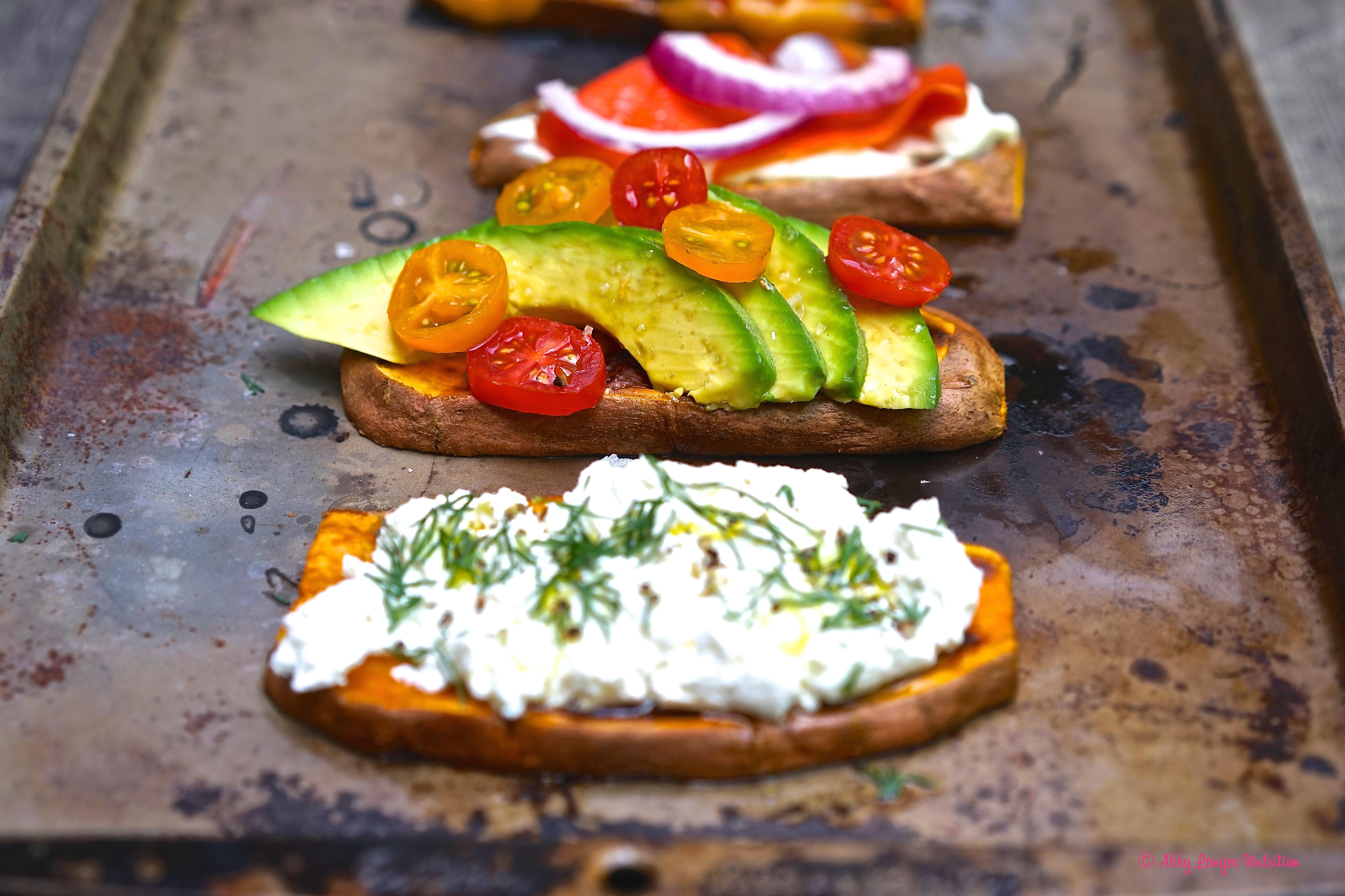 Sweet Potato Toast  Gluten Free Ve arian Sweet Potato Toast