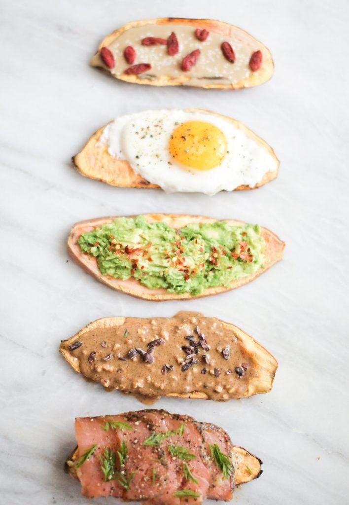 Sweet Potato Toast  How to Make Sweet Potato Toast 5 Ways