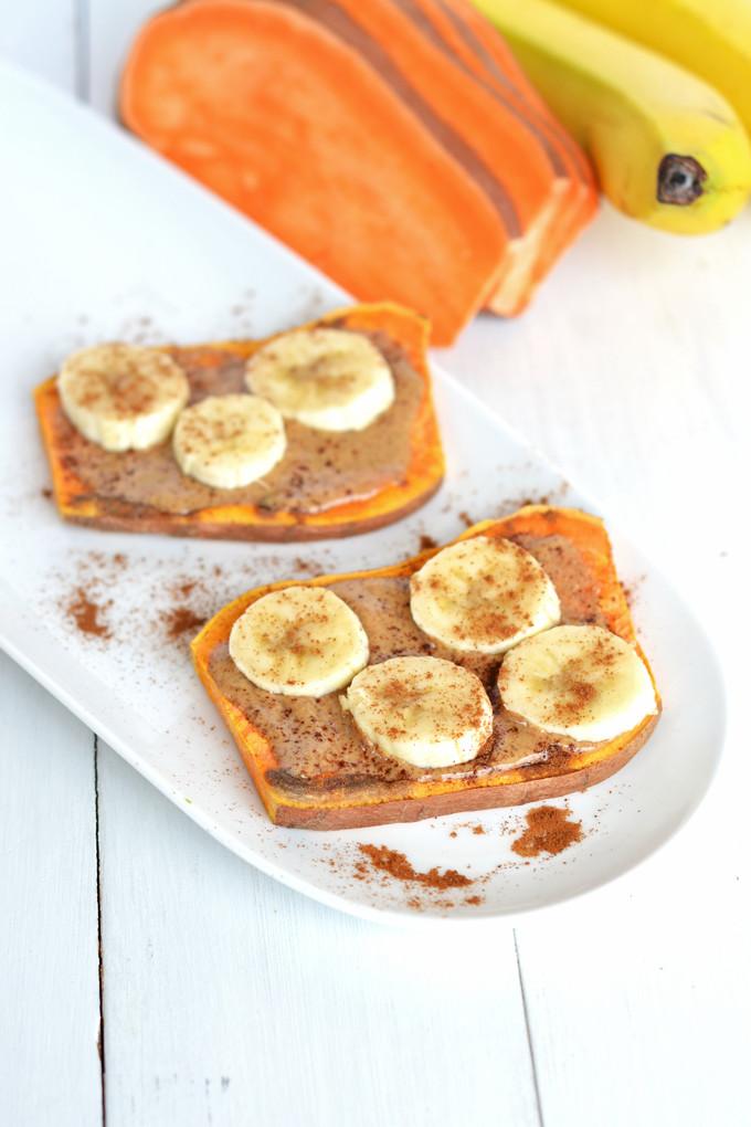 Sweet Potato Toast  Sweet Potato Toast 3 Ways Little Bits of