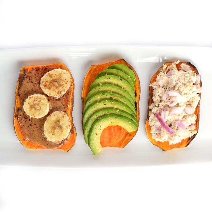 Sweet Potato Toast  Sweet Potato Toast 3 Ways – Little Bits of…