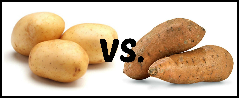 Sweet Potato Vs White Potato  Sweet Potatoes vs White Potatoes – Food For Thought
