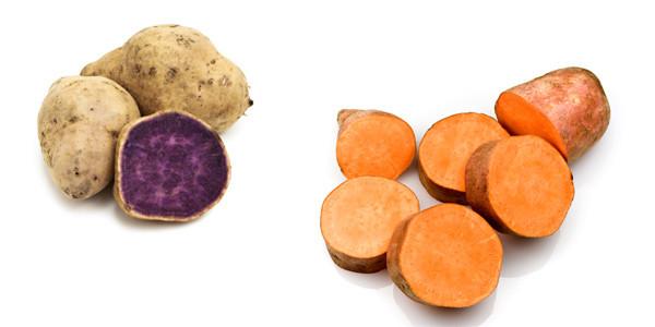 Sweet Potato Vs Yam  sweet potatoes
