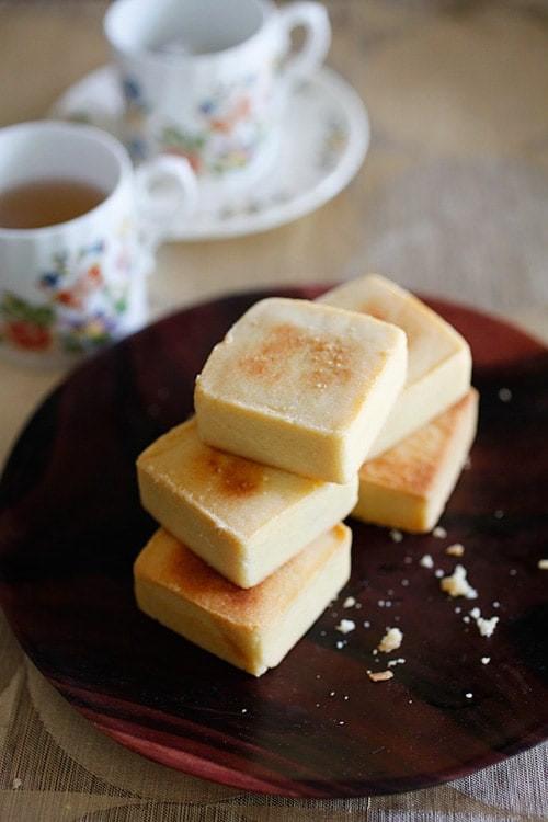 Taiwanese Pineapple Cake  Taiwanese Pineapple Tarts Shortcakes