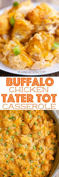 Tater Tot Casserole With Cream Of Chicken  French ion Tater Tot Casserole