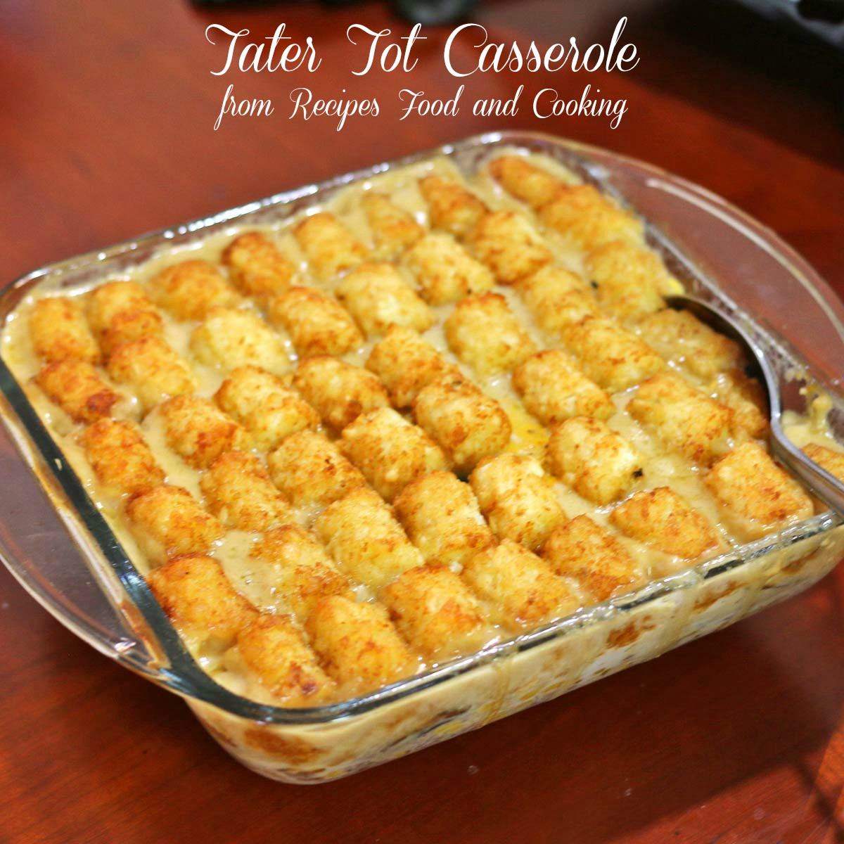 Tater Tots Casserole  Tater Tot Casserole Recipes Food and Cooking