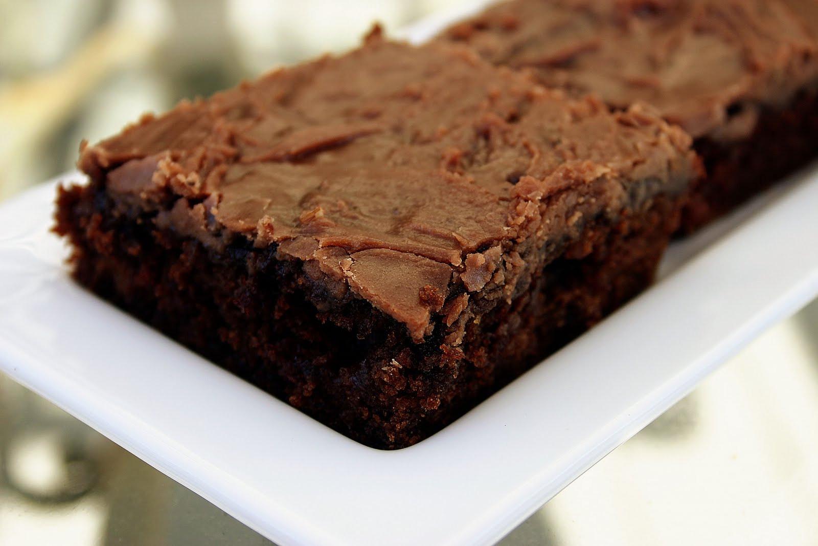 Texas Sheet Cake Brownies  Bakergirl Texas Sheet Cake