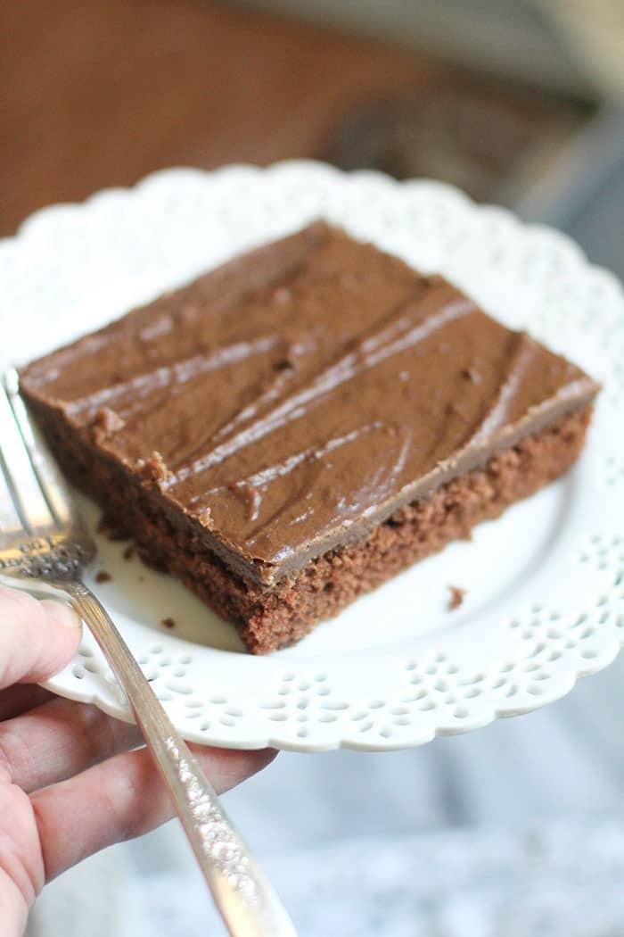 Texas Sheet Cake Brownies  Texas Sheet Cake Brownies SueBee Homemaker
