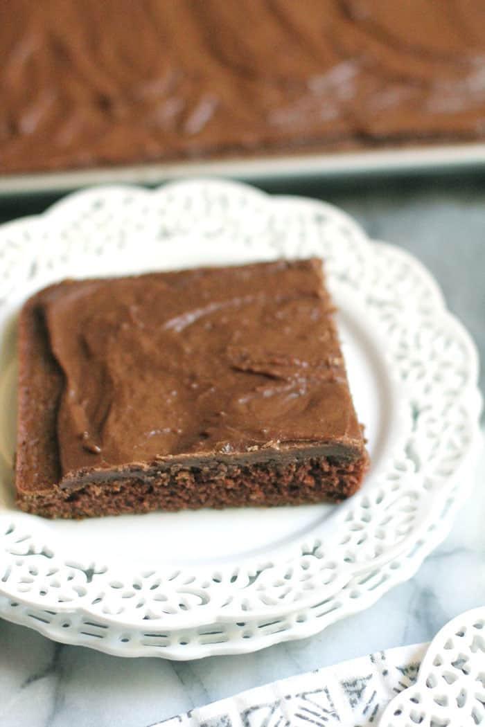Texas Sheet Cake Brownies  Texas Sheet Cake Brownies 2 SueBee Homemaker