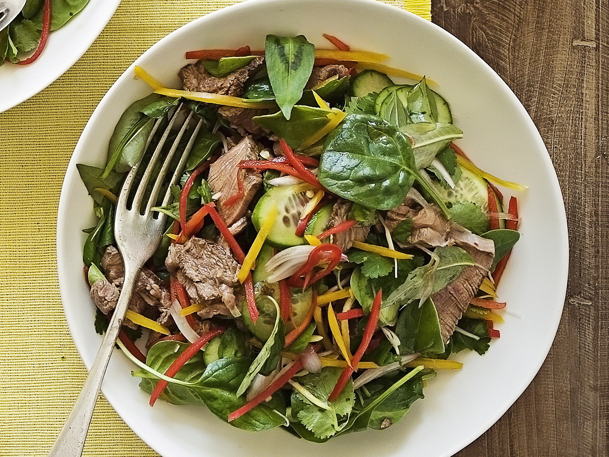 Thai Beef Salad  To Order In or Not to Order In that is the Question