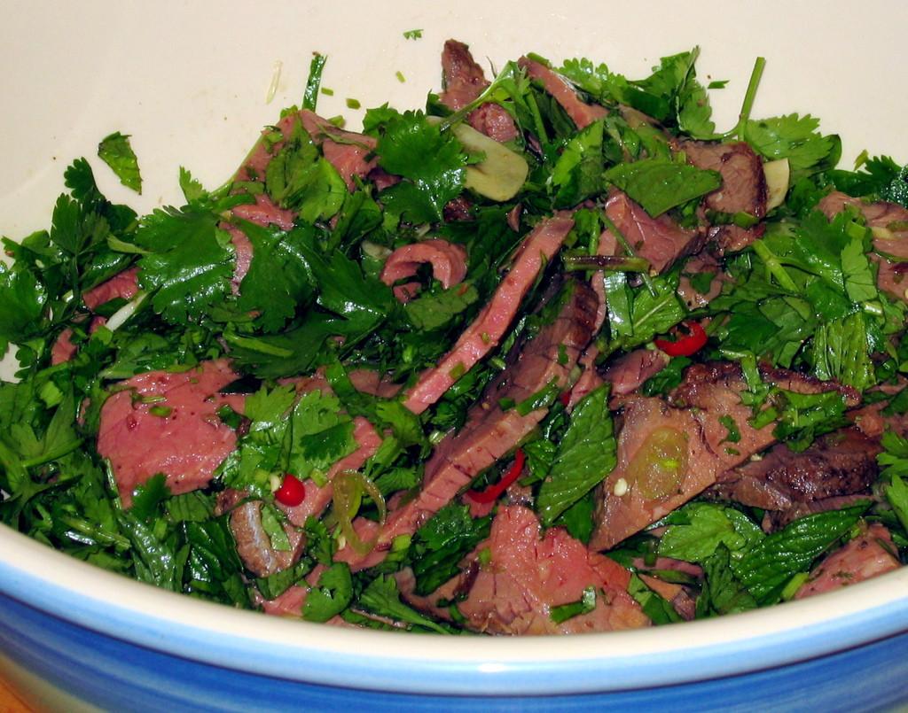Thai Beef Salad  thai salad