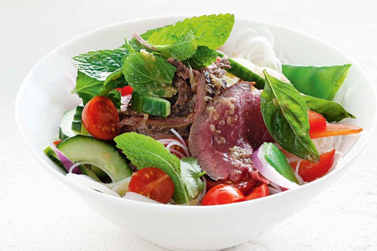 Thai Beef Salad  Thai beef salad Recipes delicious