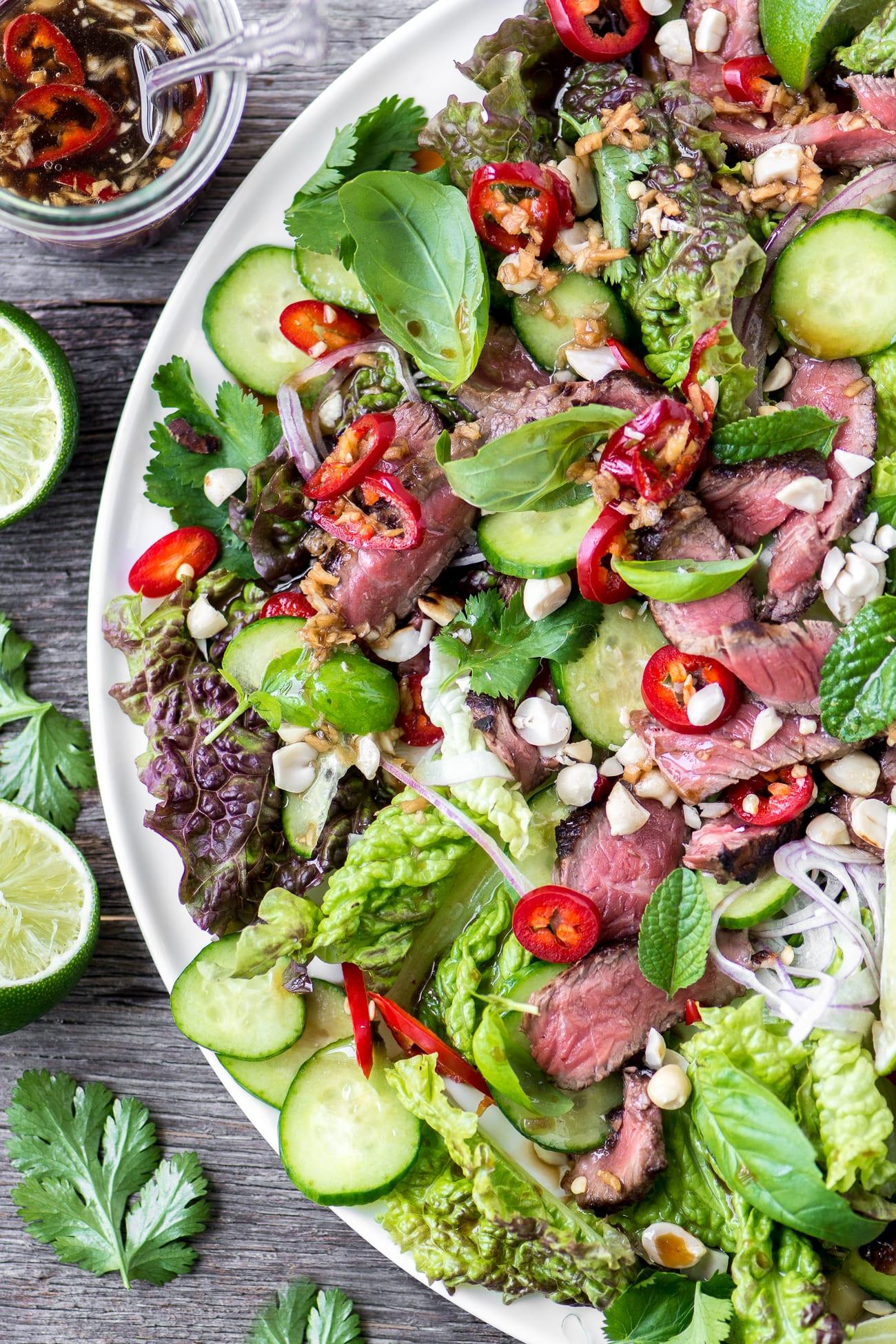 Thai Beef Salad  Thai Beef Salad