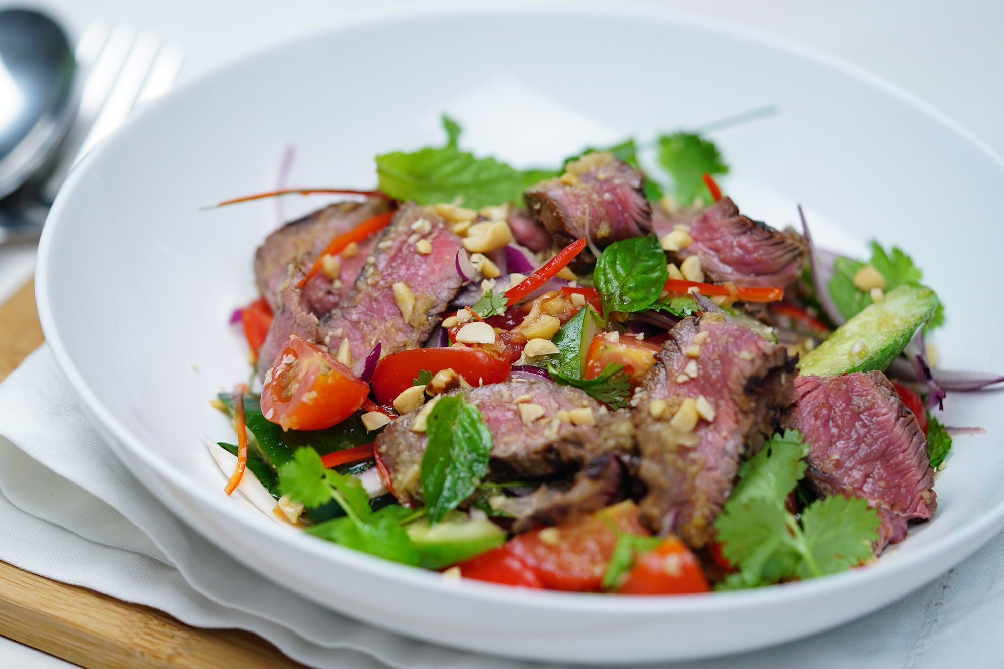 Thai Beef Salad  thai beef salad calories