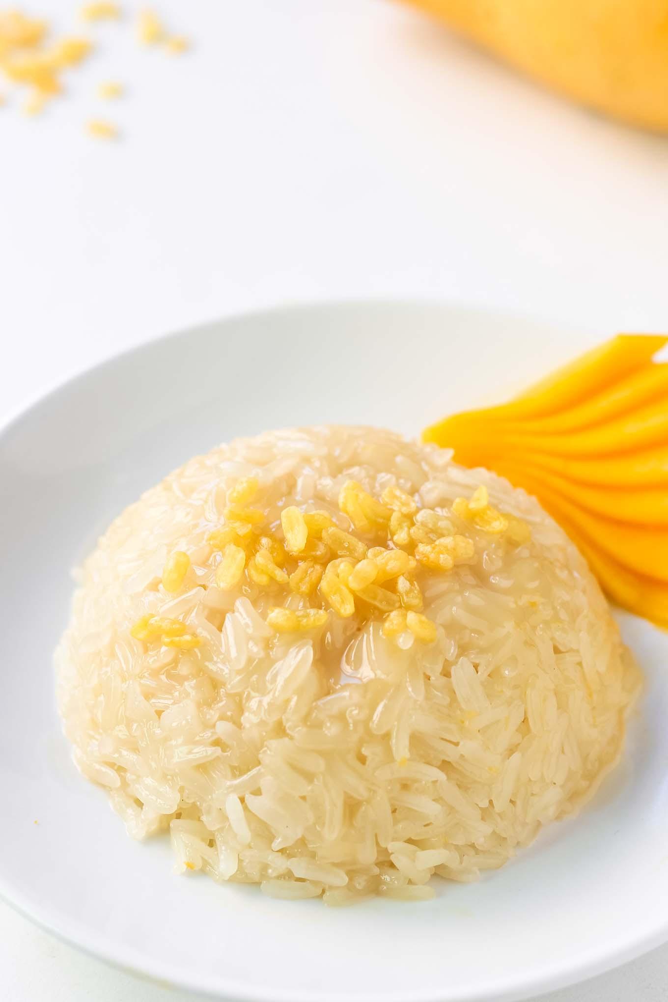 Thai Dessert Recipe  Thai Mango Sticky Rice Dessert Recipe – LeelaLicious