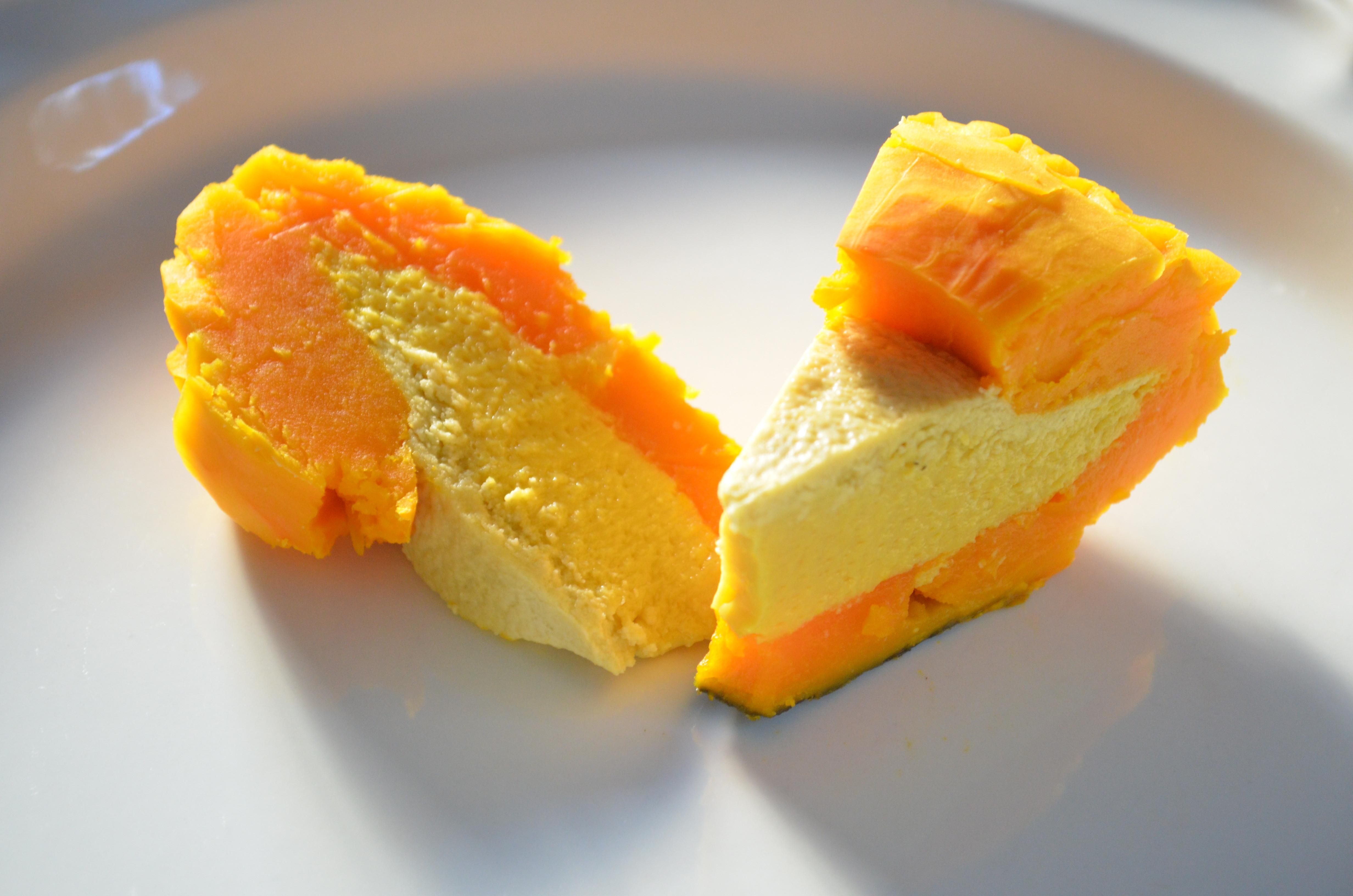 Thai Dessert Recipe  Thai custard in pumpkin