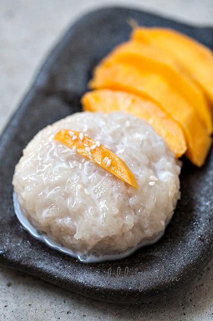 Thai Dessert Recipe  Thai Mango Sticky Rice Recipe Thai Dessert with Mangoes