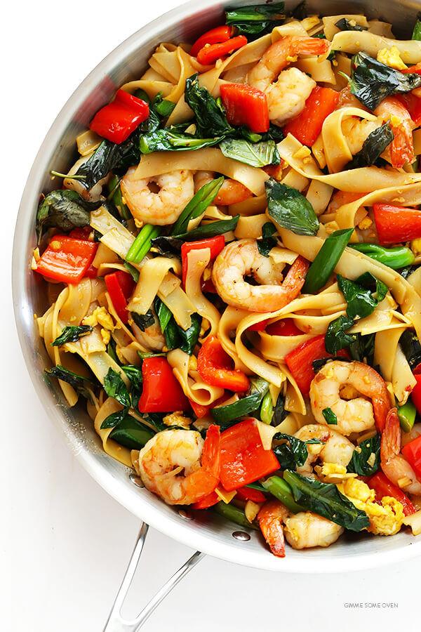 Thai Drunken Noodles Recipe  Drunken Noodles Pad Kee Mao