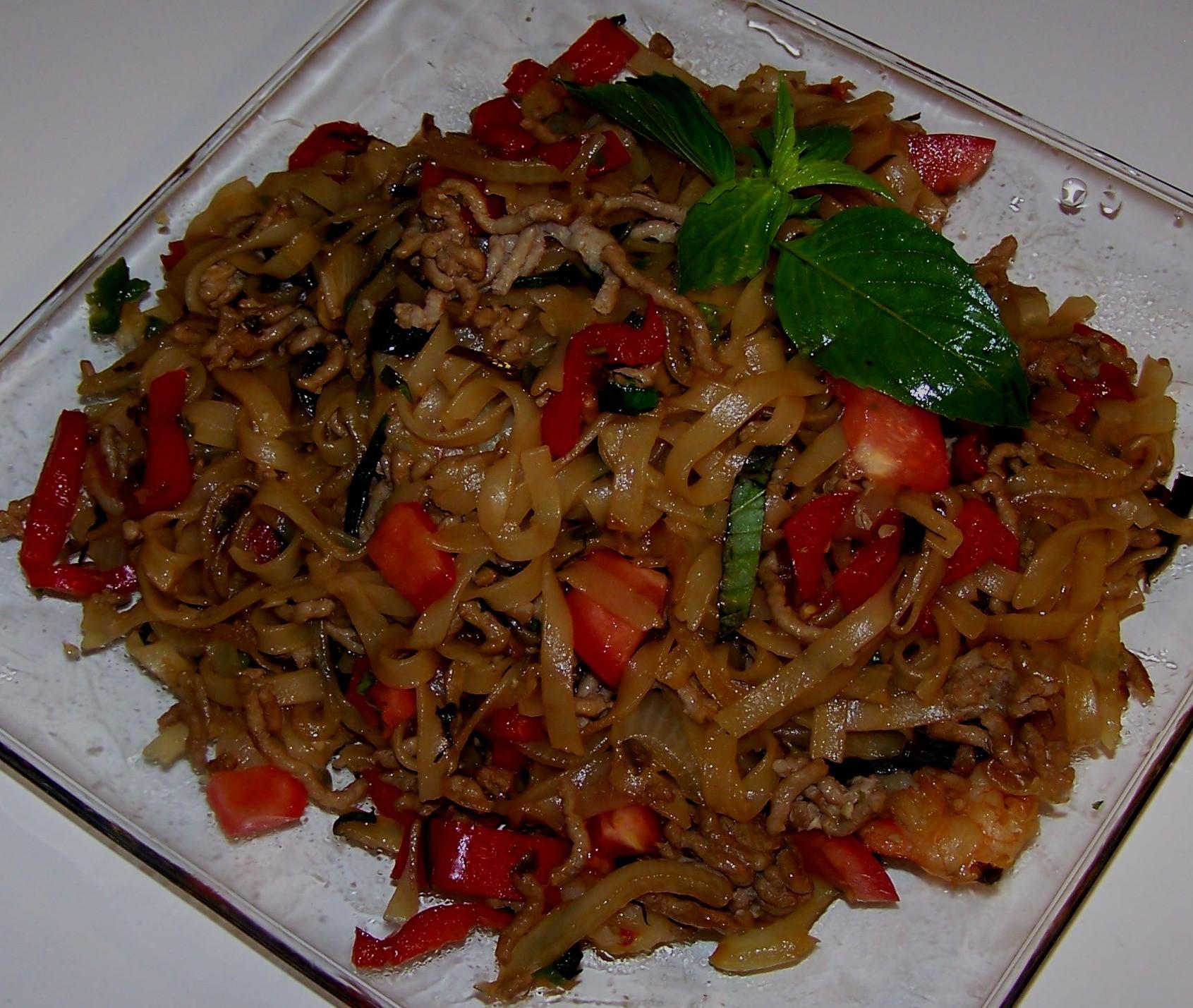 Thai Drunken Noodles Recipe  Quick Thai Noodle Recipe Quick Cooking