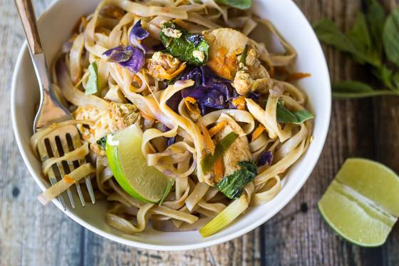 Thai Drunken Noodles Recipe  Easy Thai Drunken Noodles The Wanderlust Kitchen