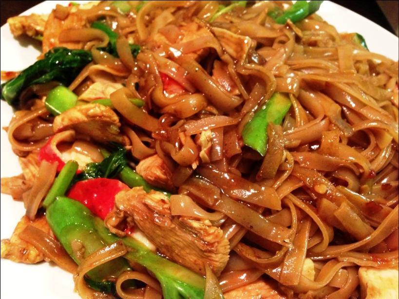 Thai Drunken Noodles Recipe  moovlin s Post