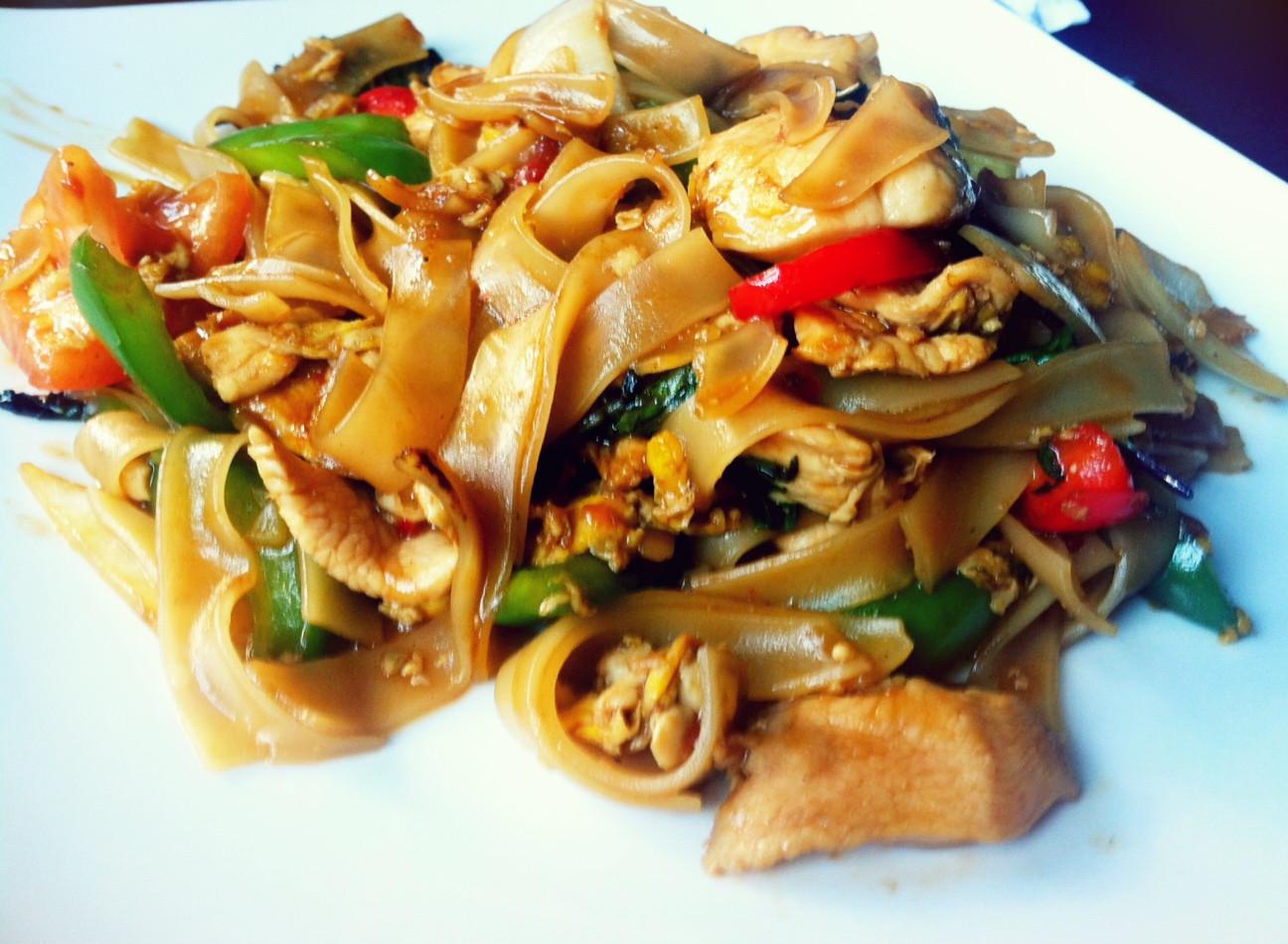 Thai Drunken Noodles Recipe  Thai Drunken Noodles