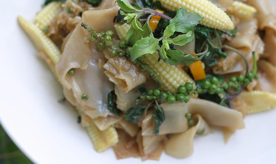 Thai Drunken Noodles Recipe  Drunken Noodles Real Thai Recipes Authentic Thai