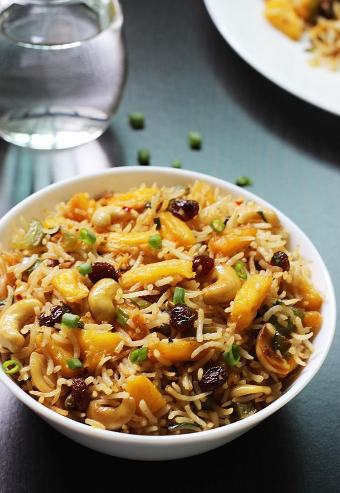 Thai Fried Rice Recipe  ve arian thai fried rice