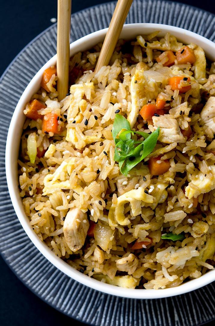 Thai Fried Rice Recipe  thai chicken fried rice recipe